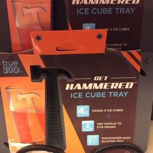 """""""GET HAMMERED"""" ICE TRAYS $5.99"""